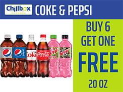 20 Oz. Pepsi & Coke Club